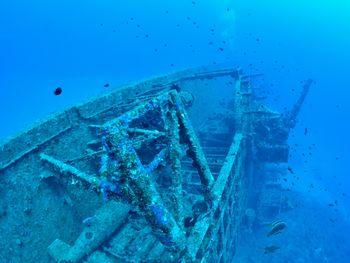 沖縄の沈没船 第二次世界大戦のエモンズ