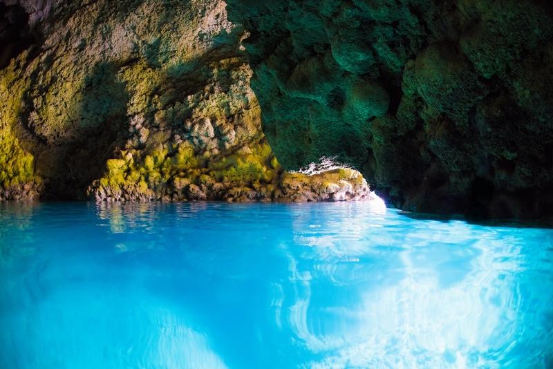 恩納村 青の洞窟で体験ダイビング 格安キャンペーン