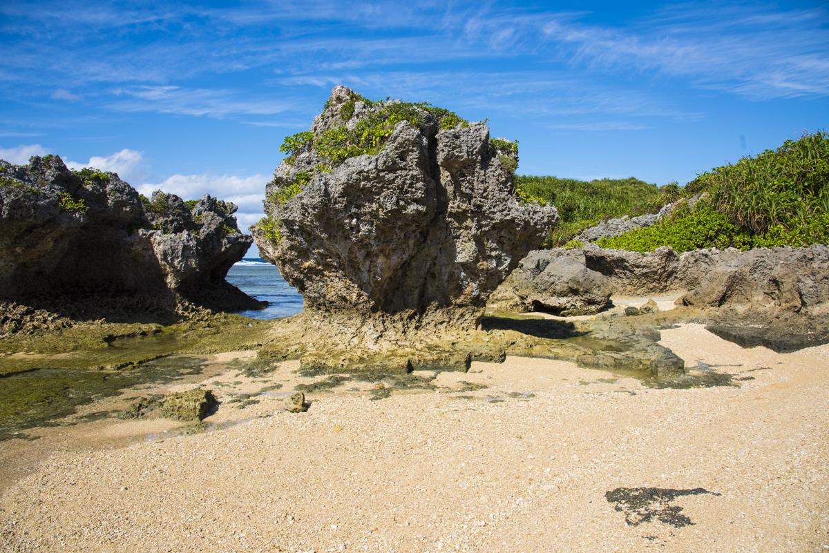 石切場跡・沖縄の海底遺跡
